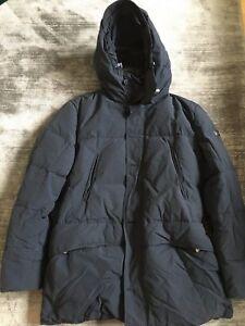 Trennschuhe Wählen Sie für echte abwechslungsreiche neueste Designs Details zu Peuterey Herren-Daunenmantel /-jacke mit Fellkragen -dunkelblau-