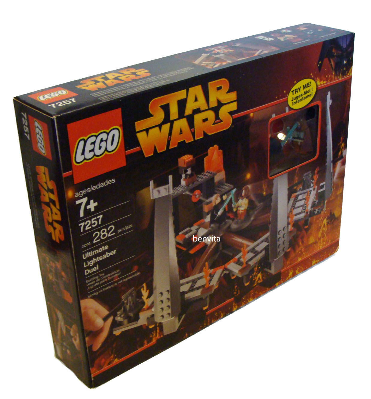 LEGO ® Star Wars 7257-ULTIMATE LIGHTSABER DUEL 282 parti 7+ - NUOVO