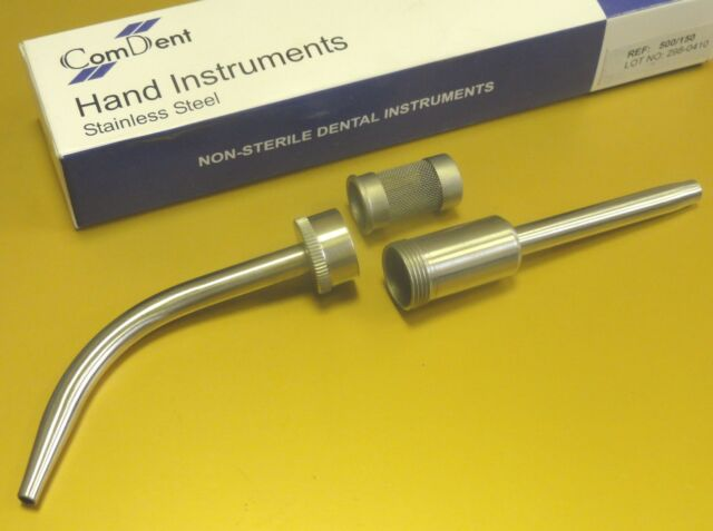 Dental Implant Surgical Bone Collector Filter 9mm Suction Steel British CE New