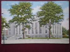 POSTCARD USA MICHIGAN COURT HOUSE KALAMAZOO