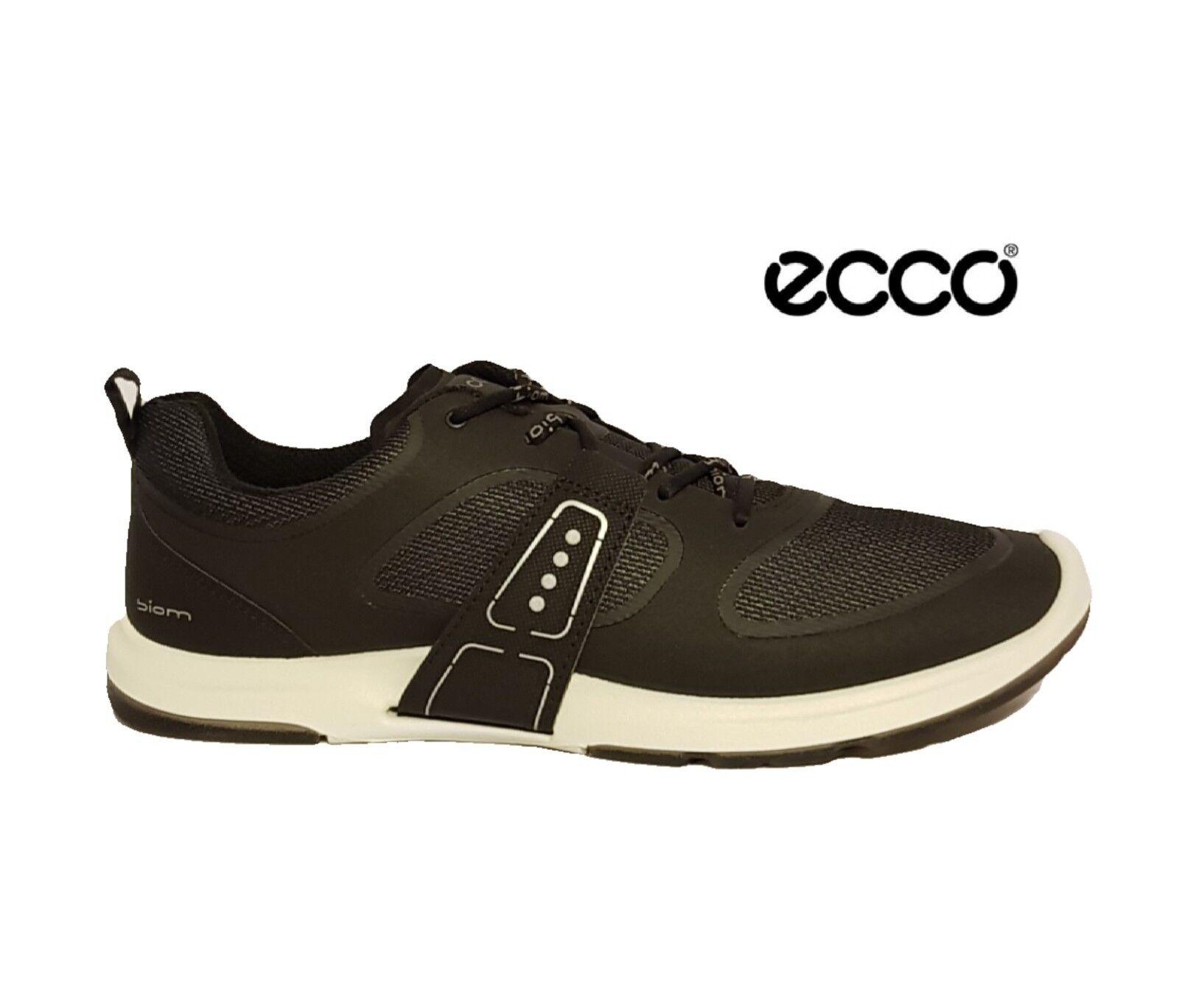 ECCO BIOM AMRAP BLACK TRAINERS RUNNING Schuhe SNEAKERS Damenschuhe LADIES UK 7 EU 40