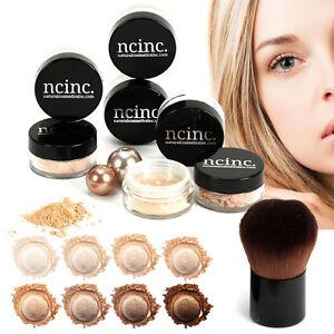 9pc-NUDE-NUDE-SKIN-mineral-makeup-impostato-da-ncinc-minerali-Fondazione-KABUKI
