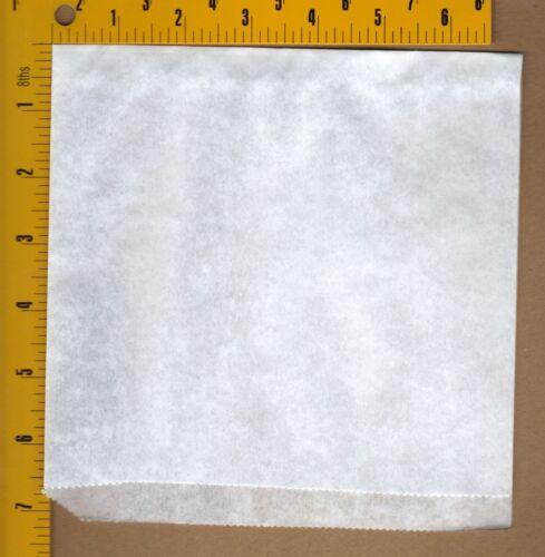 Sandwich Wrapper Double Opening Bages Plain Paper Wrap Warm Parties 50