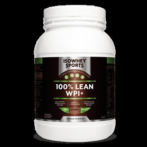 Isowhey Sports 100% Lean WPi + van 1.2 kg