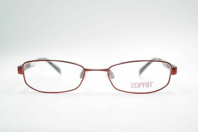 GroßZüGig Vintage Esprit Et17334 48[]17 135 Rot Oval Brille Eyeglasses Nos Online Rabatt