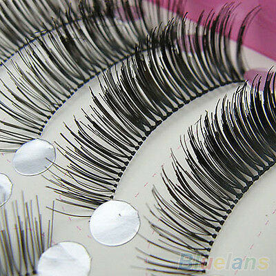 10 Pairs Unique Natural Long False Eyelashes Makeup Special Eye Lashes Extension