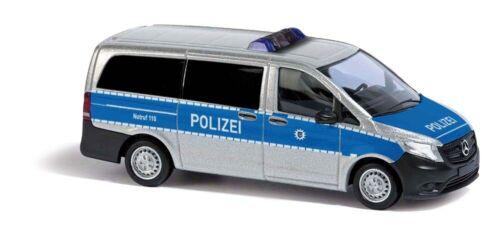 Busch 51125 Mercedes Benz Vito Bereitschaftspolizei Hessen HO 1:87 NEU