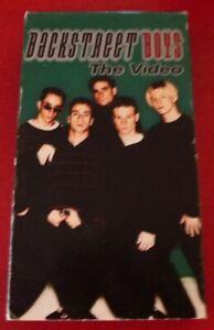 VHS-Movie-Back-Street-Boys-Backstreet-The-Video