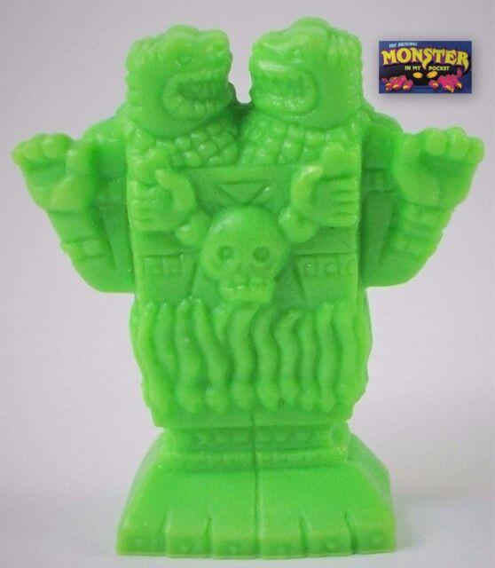 Monster in my Pocket - Series 1 - 16 Coatlicue - Neon Green NG Mini Figure MEG