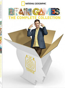 Brain Games Complete Series DVD Set Season 1 2 3 4 5 6 7 (1-7) NEW Out of Print