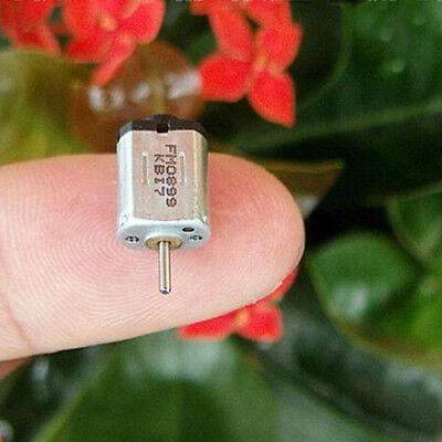 2pcs/set K10 DC 2V 0.03A 19500RPM Output Speed Electric Mini Motor HF
