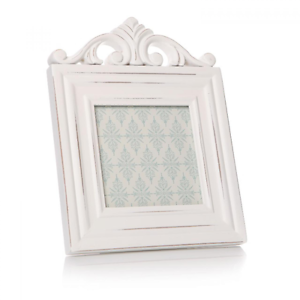 Image Is Loading Antique White Scroll Shabby Chic Photo Frame 4