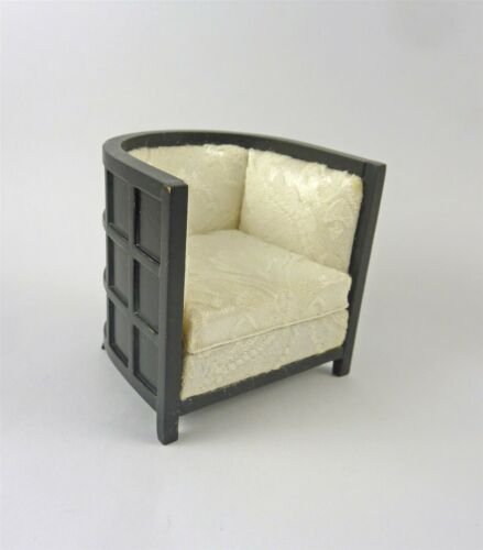 Dollhouse Miniature Art Deco Tub Chair J31087