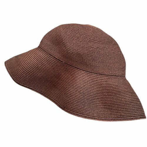 Eric Javits Squishee Packable Straw Hat Wide Brim… - image 1