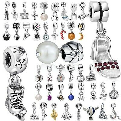 Creative Beads Pendant  Fit European Charms 925 Silver Sterling Bracelets Chains