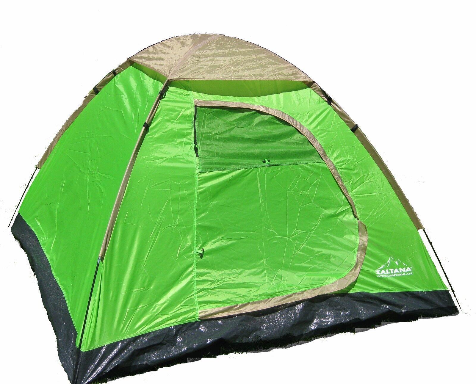 Zaltana 3 Person Dome tent (7'x7'x4'3 )