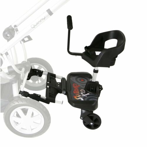 Buggy Step Board With Seat Or Saddle Compatible With iSafe Pram System