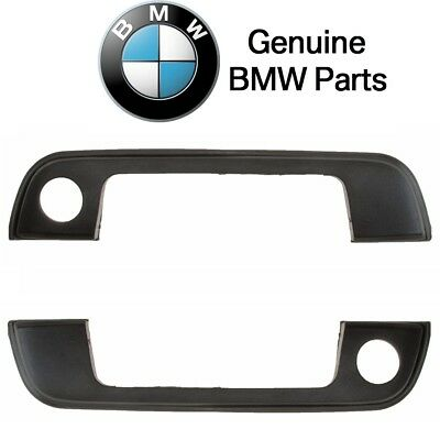 For BMW E34 E36 3 5-Series Front Door Handle Cover w// Seal Set L+R Genuine