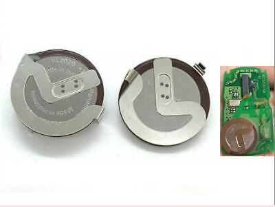 2 New Original Replacement Rechargeable Batteries Remote Key Fob VL2020 For BMW