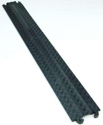Herzhaft 1 Kanal Cp Kabelbrücke Kabelmatte Überfahrrampe Kabelkanal Überfahrschutz Gummi Pro-audio Equipment