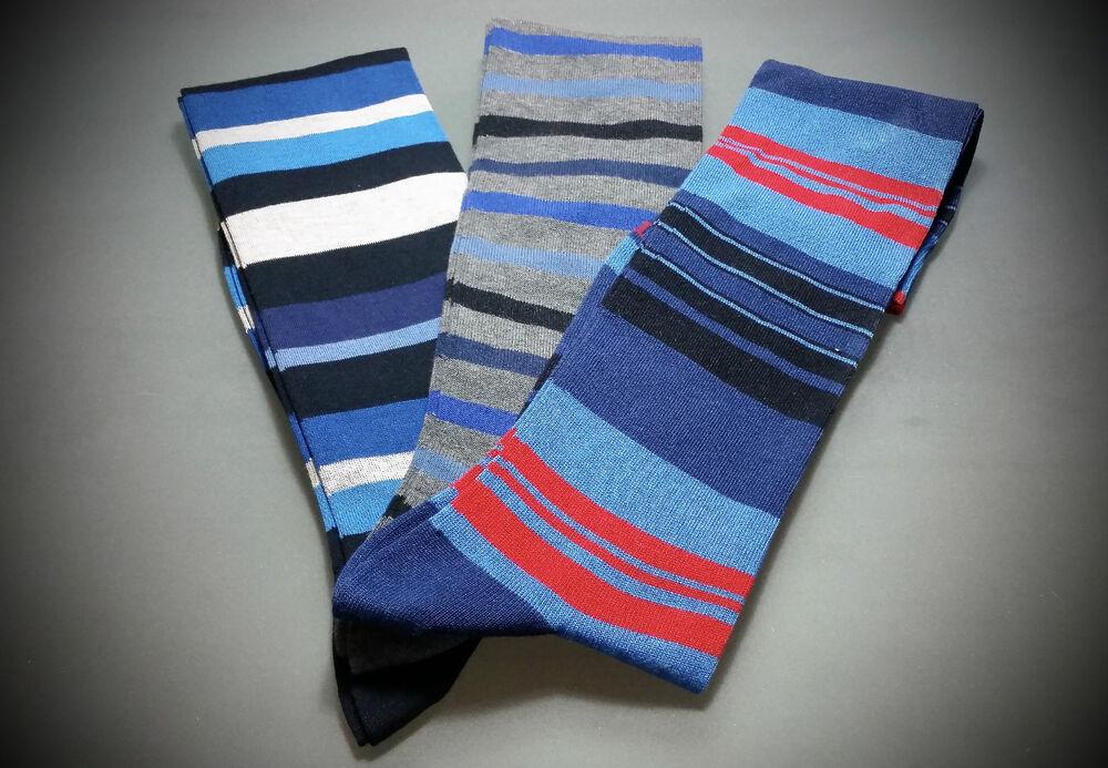 Brillant 1 Paio Calze Uomo A Scelta Gallo Punto Red Socks Socken Chaussettes Cotton Artisanat Exquis;