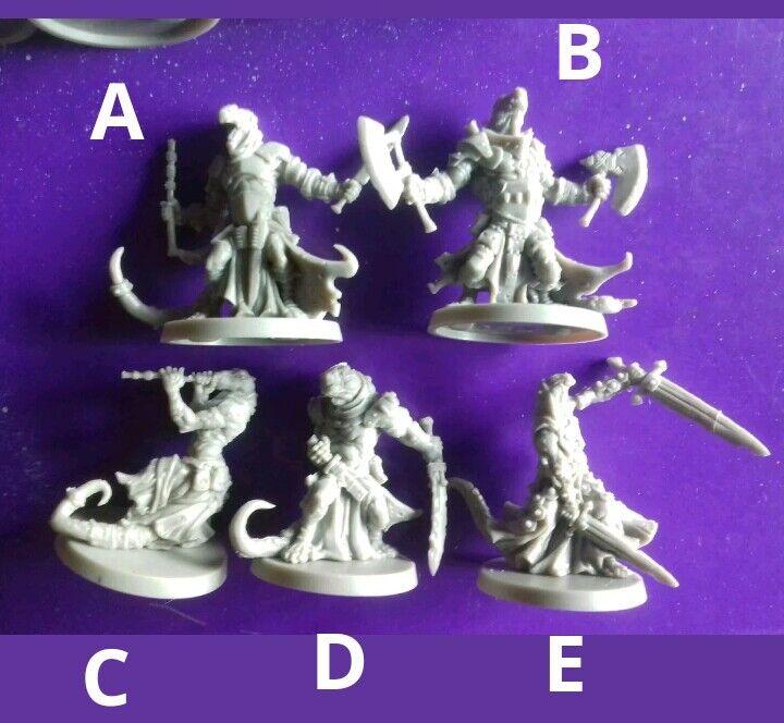 21x Goblin dwarf etc etc etc mix minions warriors massive darkness boardgame spare part 854431