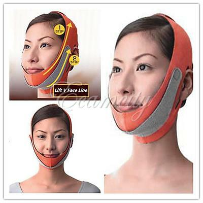 Anti Wrinkle Half Lift V Face Line Slimming Up Cheek Mask Strap Belt Band New