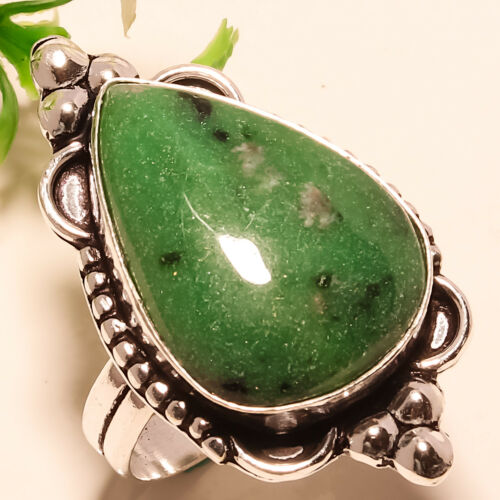 Livraison gratuite naturel Mix Lot Dendrite OPAL 925 SILVER Gemstone Jewelry Ring
