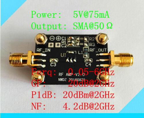 1PC broadband RF amplification 0.05-6G high-performance