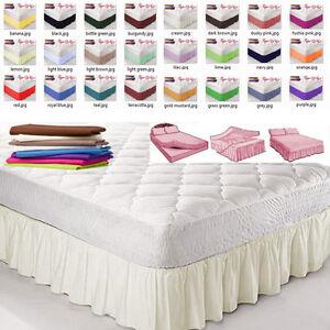 NEW UK 4ft Bed Super King Bed BASE PLATFORM VALANCE SHEETS Bunk Bed