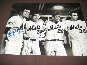 Details about 1969 NEW YORK METS WORLD SERIES CHAMPION ED KRANEPOOL AUTO  8X10 PHOTO W/COA