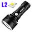 Torche-Puissante-Rechargeable-USB-Lampe-De-Poche-LED-L2-XLM-L2-P70-Chasse-Nuit miniature 13