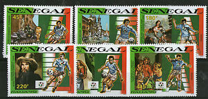 SENEGAL 1990 ITALY FOOTBALL WORLD CUP SET SIX COMMEMORATIVE STAMPS MNH a - Weston Super Mare, Somerset, United Kingdom - SENEGAL 1990 ITALY FOOTBALL WORLD CUP SET SIX COMMEMORATIVE STAMPS MNH a - Weston Super Mare, Somerset, United Kingdom