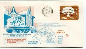 1978 Frcs Hoisted Test Bay White Sands Missile Range Space Shuttle New Mexico