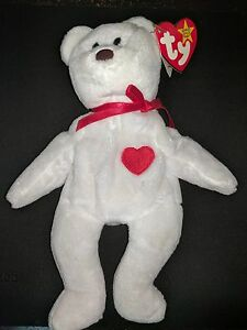 1c3f525bf9d Image is loading Extremely-Rare-VALENTINO-1993-Beanie-Baby-Babies-MISPRINT-