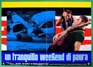 T48 Fotobusta Ein Quiet Weekend Von Angst Jon Voight Burt Reynolds Boorman