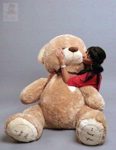 Teddybär Riesen 240cm 190cm 160cm 100cm  XXL BIG Plüschbär Stofftier Geschenk