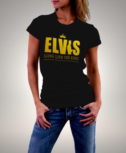 Elvis Presley Long Live The King Women T-Shirt