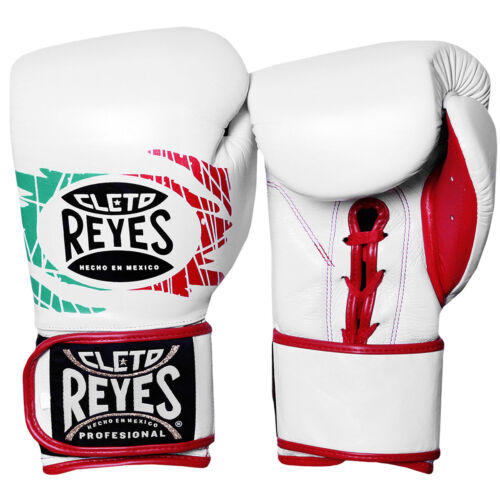 Cleto Reyes Lace Up Hook and Loop Hybrid Boxing Gloves