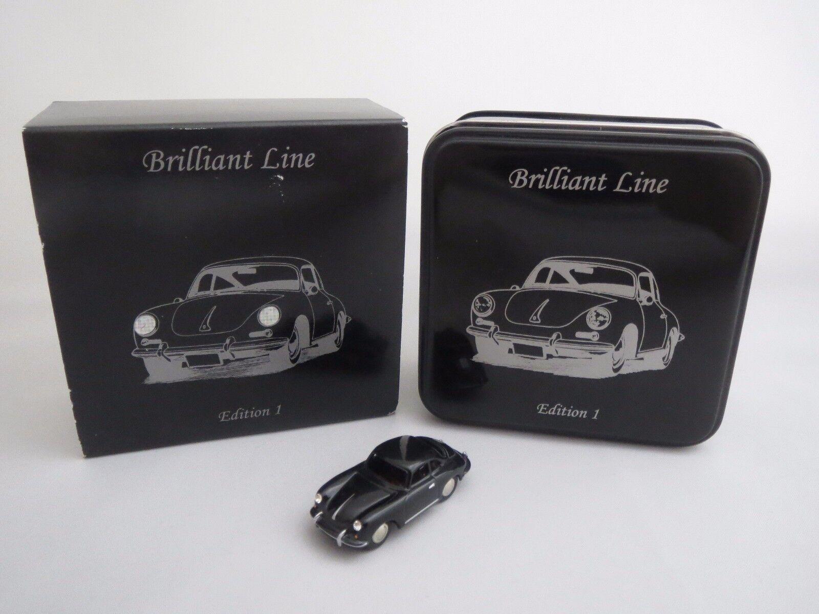 Bouèbe 06303 Brilliant Line  Porsche 356b Coupè  1 87 NEUF dans sa boîte  (1)