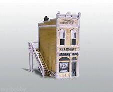 HO Scale Pharmacy Cast Metal Building Kit - Woodland Scenics #D221