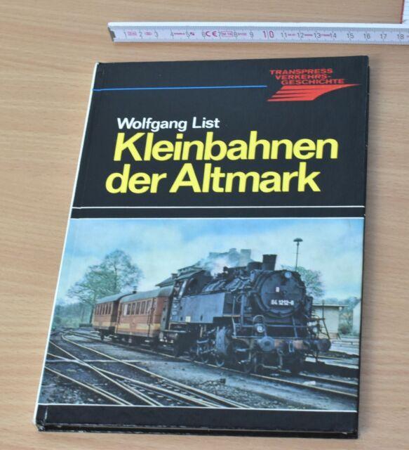 """""""piccolo passate della Altmark"""", Transpress 1981, 144 pagine"""