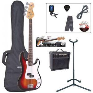 E4-Blaster-Series-Bass-Guitar-Outfit-Sunburst