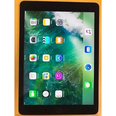 Apple Ipad Air 2 64GB, Wi-Fi, 9.7in - Weltall Grau A+ Note 12 Monate Garantie