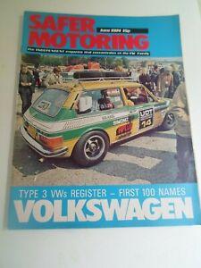 VOLKSWAGEN-SAFER-MOTORING-June-1974-Vintage-Illustrated-Magazine-Adverts