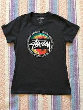 Women's Stussy Designs Roots Reggae Surf T-Shirt, Size XS