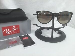 77ecbc52019 Ray Ban Erika Gold Mirror RB4171 601 5A 54-18 Black Gunmetal Frame ...