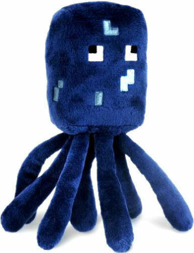 Minecraft-Squid-Plush-Toy-w-Label-NEW-FREE-FAST-USA-SHIPPING