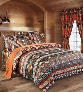 Shatex Comforter Set Bedding All Season Boho Ultra Soft Polyester Western King