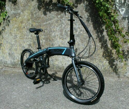 ROK-Folding-Electric-Bike-250w-36v-20-034-wheels-INTUBE-Battery-UK-Stock-fast-2A